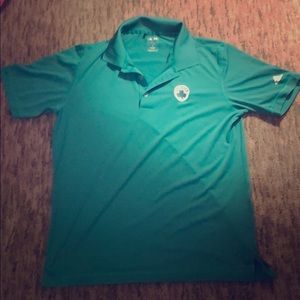 ADIDAS PureMotion Celtics golf shirt
